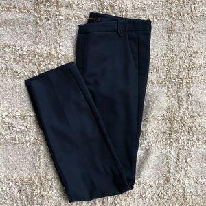 Zara Cotton Navy Blue Dress Pants / Trousers